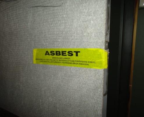 Miljøkartlegging nivå 2, asbest