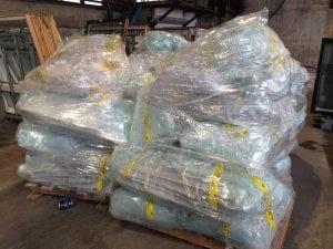 Asbest for ansatte på avfallsmottak