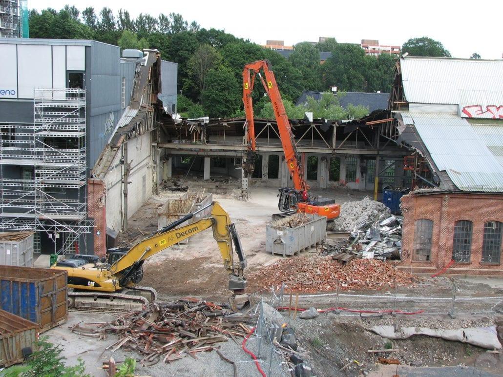 Byggavfall og avfallsplaner